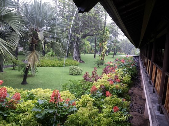 Club Med Bali : Yes, it rained but look at the view!