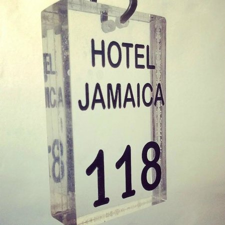 Jamaica Hotel: El llavero vintage