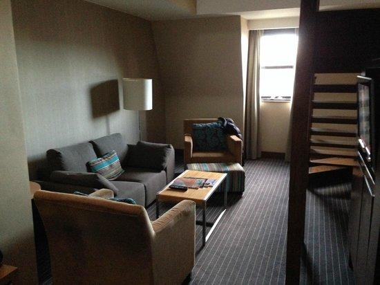 Crowne Plaza London Kensington: Lounge area