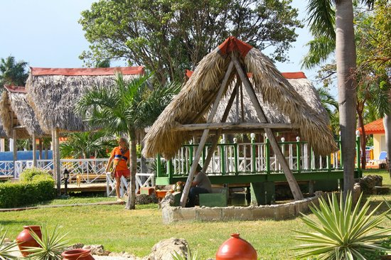 Gran Caribe Club Villa Cojimar: where you can get a coconut to drink