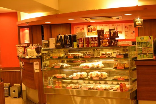 Hotel Shikha: CCD in the hotel premises