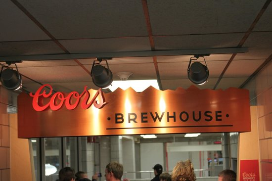 Coors Brewery : part of the free tour
