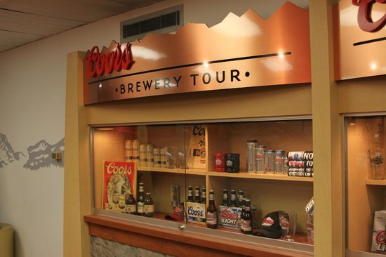 Coors Brewery : a gorgeous display of what they have