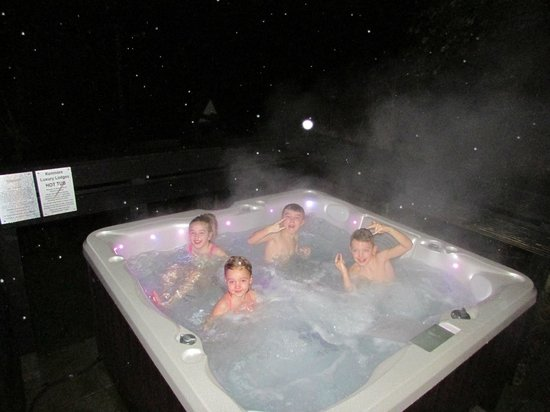 Kenmore Hotel: Jacuzzi time !