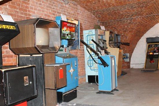 Museum of Soviet Arcade Machines: Экспонаты