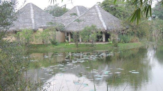 Jetwing Vil Uyana : la réception !