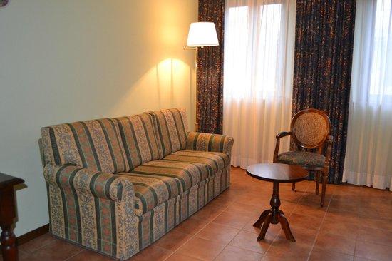 Hotel Residence San Gregorio : Salottino