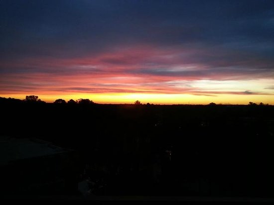 The Umstead Hotel and Spa : Sunrise from the room