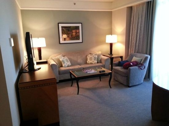 The Umstead Hotel and Spa : Sitting room