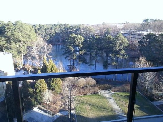 The Umstead Hotel and Spa: From the balcony