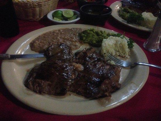 Restaurant Bar Campestre: Carne Asada!