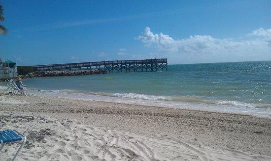 Key Colony Beach Motel: Причал неподалёку