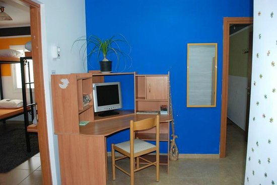 The Green Backpackers: The computer station in Building B