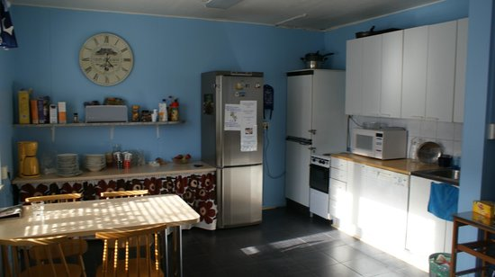 Citimotel: kitchen