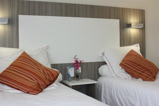Best Western Saphir Lyon: Chambre 2 lits