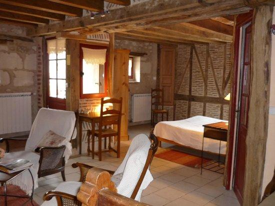 Chambres d'Hôtes de Charme Les Bournais : chambre