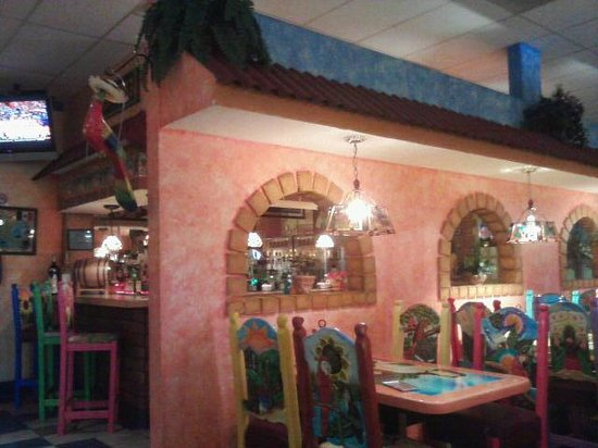 El Cozumel Bar area