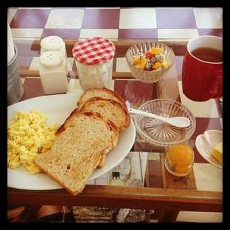 Upstairs Cafe : Breakfast set