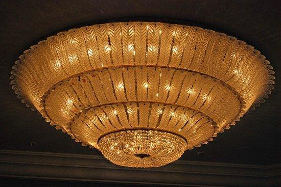 Hotel Leelaventure Ltd: One of the Huge Chandeliers