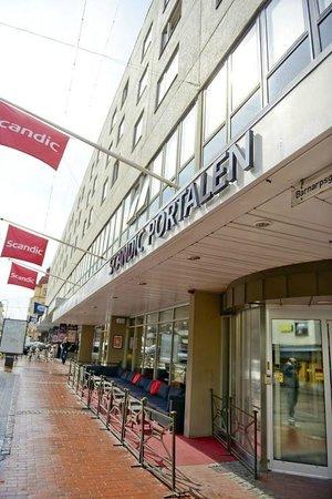 Scandic Hotel Portalen: Fasadbild