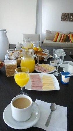 Catalonia Sur Aparts & Spa: Desayuno
