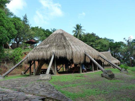 The Carib Territory : Carib Longhouse