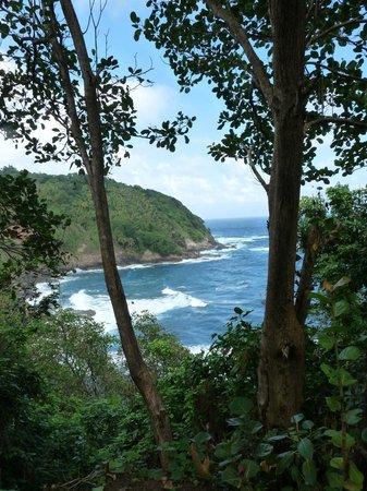The Carib Territory: Coastal view from Carib Village
