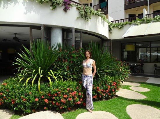 ibis Phuket Patong : территория сада, внутренний двор
