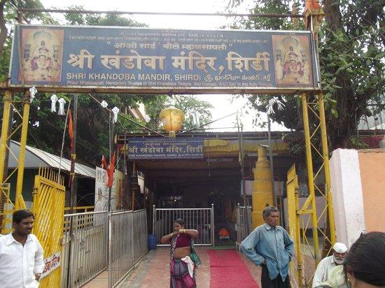 Shri Saibaba Sansthan Temple: Shri-Khandoba-Mandir-Shirdi