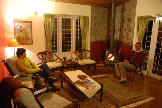 Cinnabar : Fireside chat in the drawing room