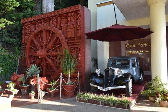 Gem Park-Ooty: Front entrance