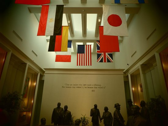 Richard Nixon Presidential Library and Museum: Flags of Nations
