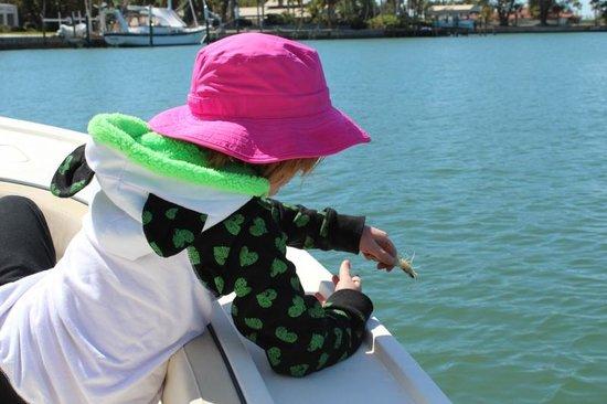 Captain Van Hubbard Fishing Charters: Bait Release
