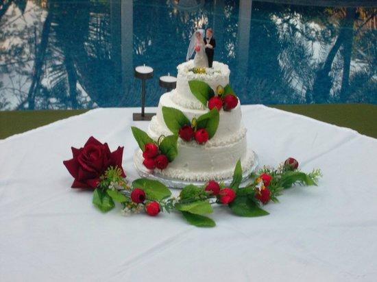 Panaderia & Heladeria Princesa Bakery & Ice Cream Parlor: Wedding Cake at El Sueno Tropical