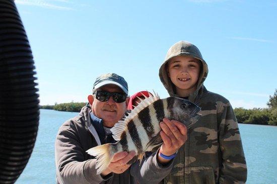 Captain Van Hubbard Fishing Charters: Sam's sheepshead