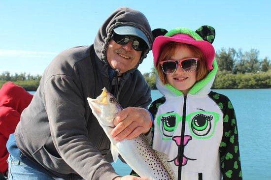 Captain Van Hubbard Fishing Charters: Josie's trout
