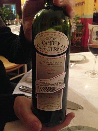 Le Jardin des Brouches : Yummy wine