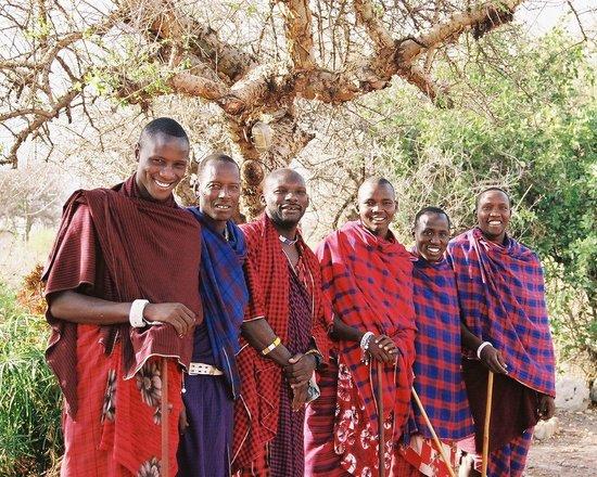 Shu'mata Camp: Maasai elder Ole Zululu
