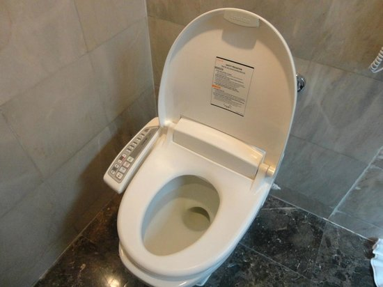 Bangkok Hotel Lotus Sukhumvit : Toilet seat