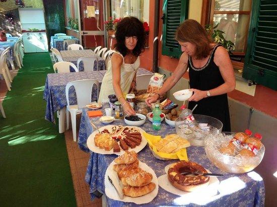 B&B da Carla: Fantastisk morgenmad