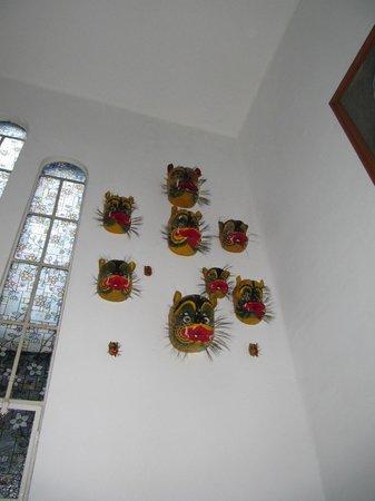 Hotel Casa Gonzalez: more folk art