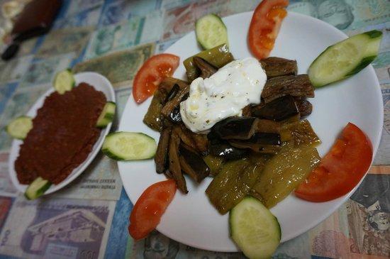 Mehmet and Ali Baba Kebab House : Fried Vegetables