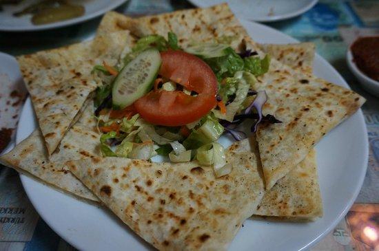 Mehmet and Ali Baba Kebab House : Turkish Meat Pancake