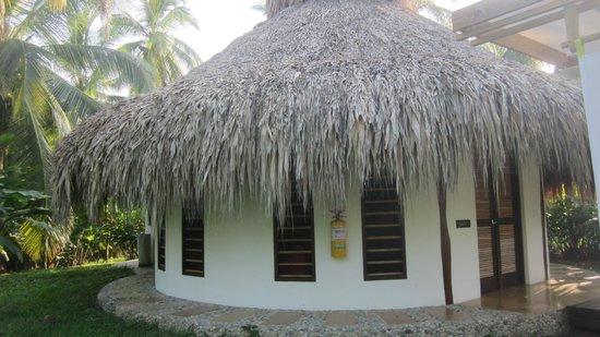 Merecumbe Hotel: de eco hut van buiten