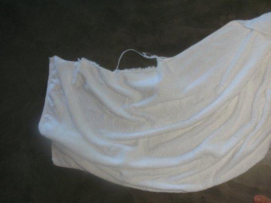O Ceu De Boipeba Pousada : toalha rasgada