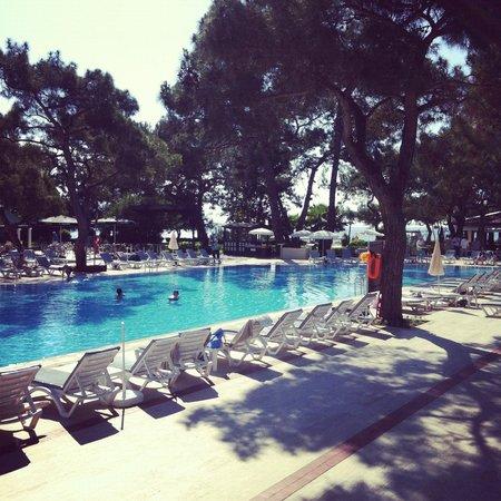 La Mer Art Hotel : бассейн