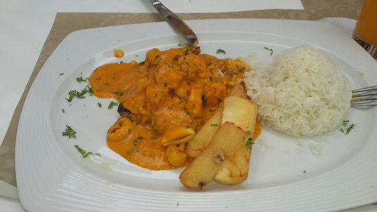 Casa Andina Select Zorritos Tumbes: pescado a lo macho buenaso