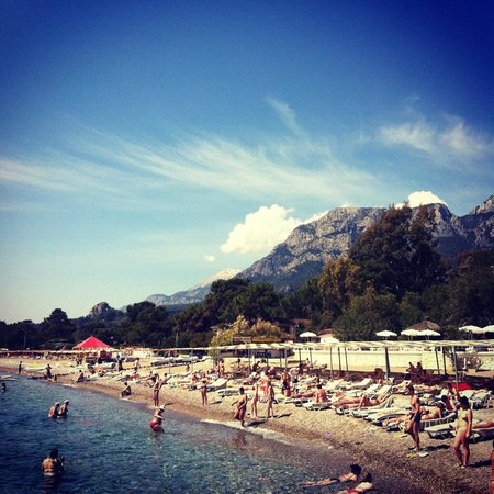 La Mer Art Hotel : пляж