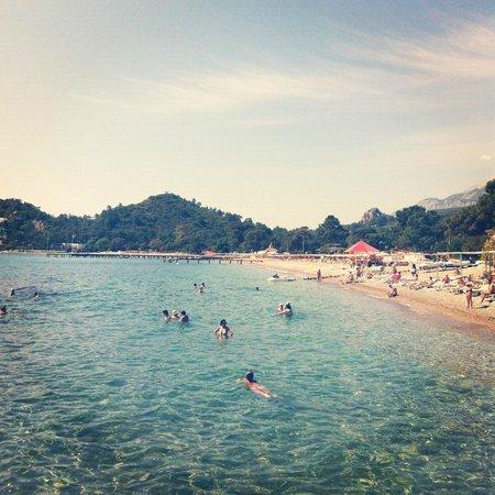 La Mer Art Hotel : вид на море с пирса