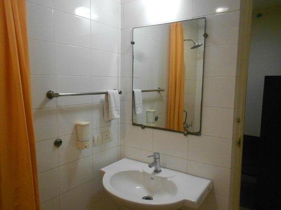 Ginger New Delhi: mirror n curtain